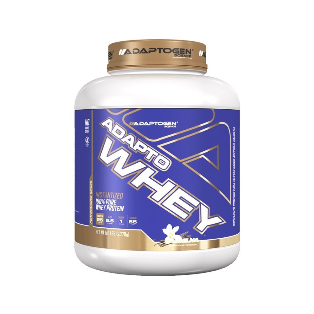 ADAPTO WHEY (2,270KG) - ADAPTOGEN SCIENCE