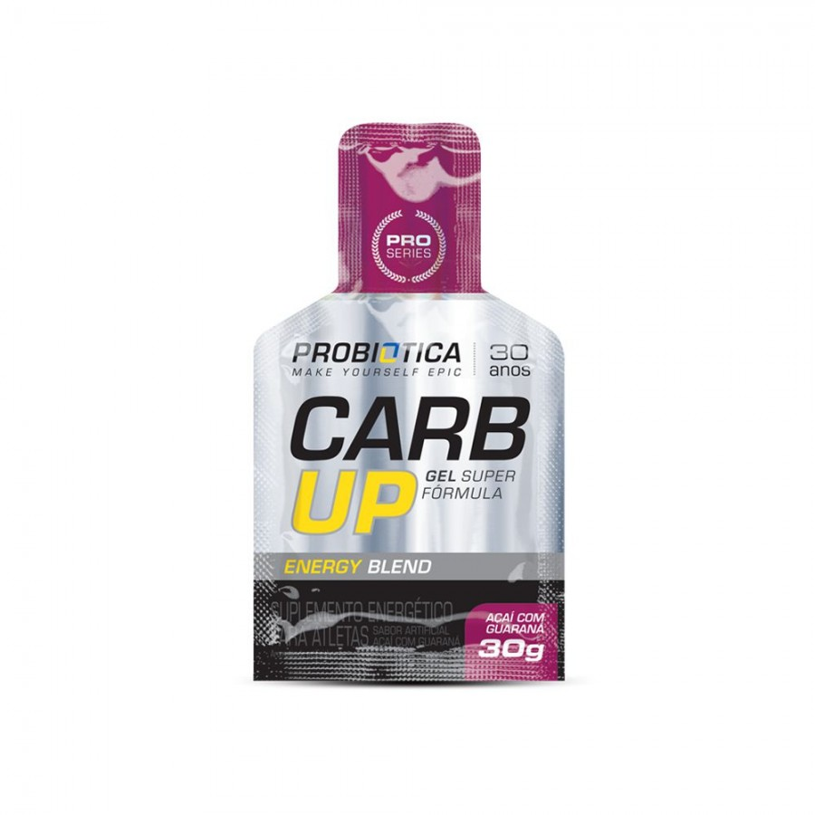 CARB UP BCAA PLUS GEL (SACHÊ)- PROBIÓTICA