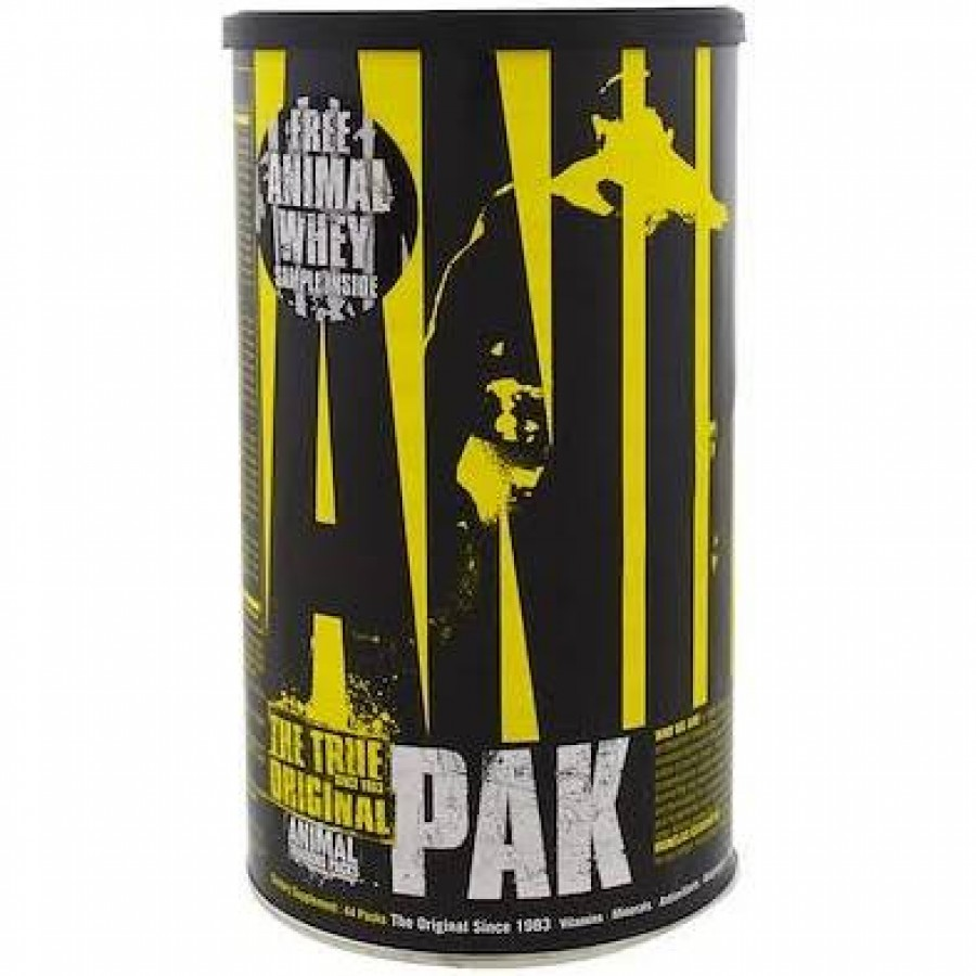 Universal Nutrition Animal Pak, Training Supplement, 44 Pacotes