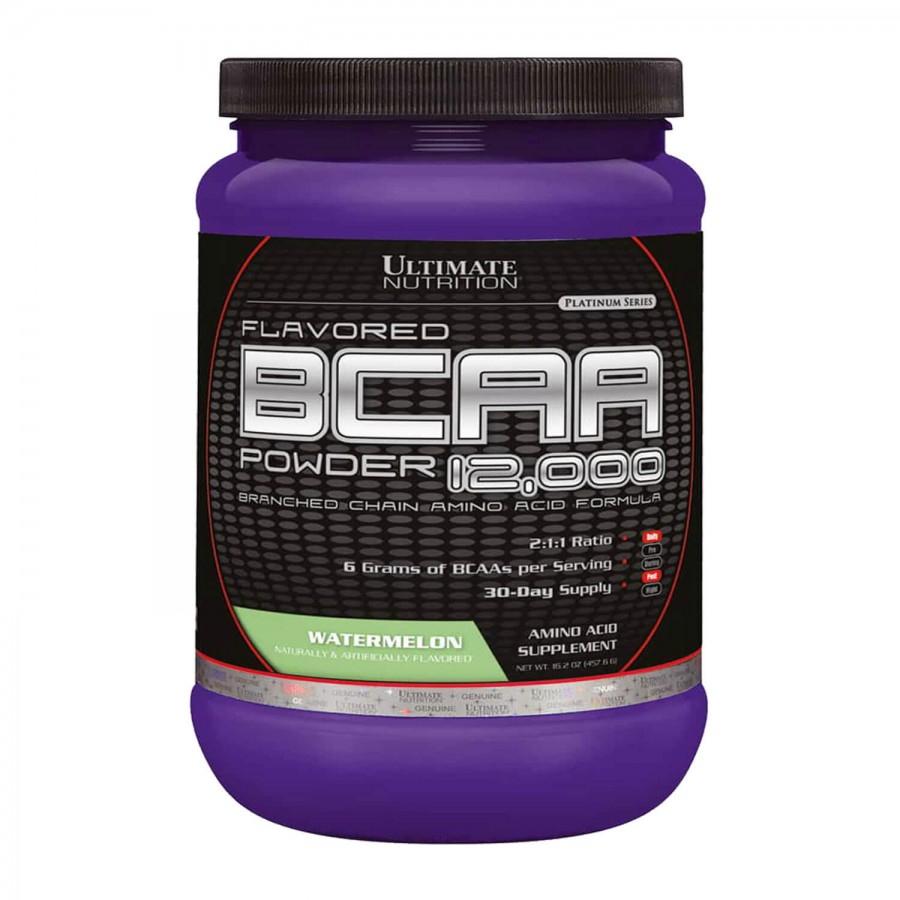 BCAA 12000 POWDER (228G) - ULTIMATE NUTRITION