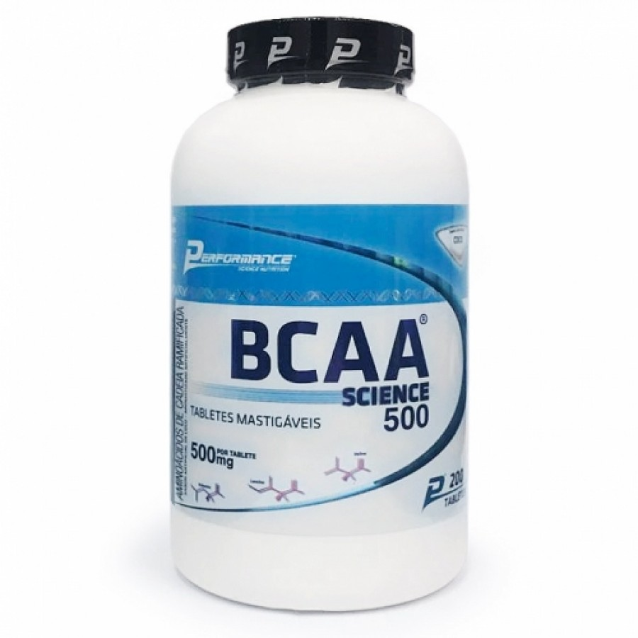 BCAA Science Mastigável 500mg - (200 Tabletes)