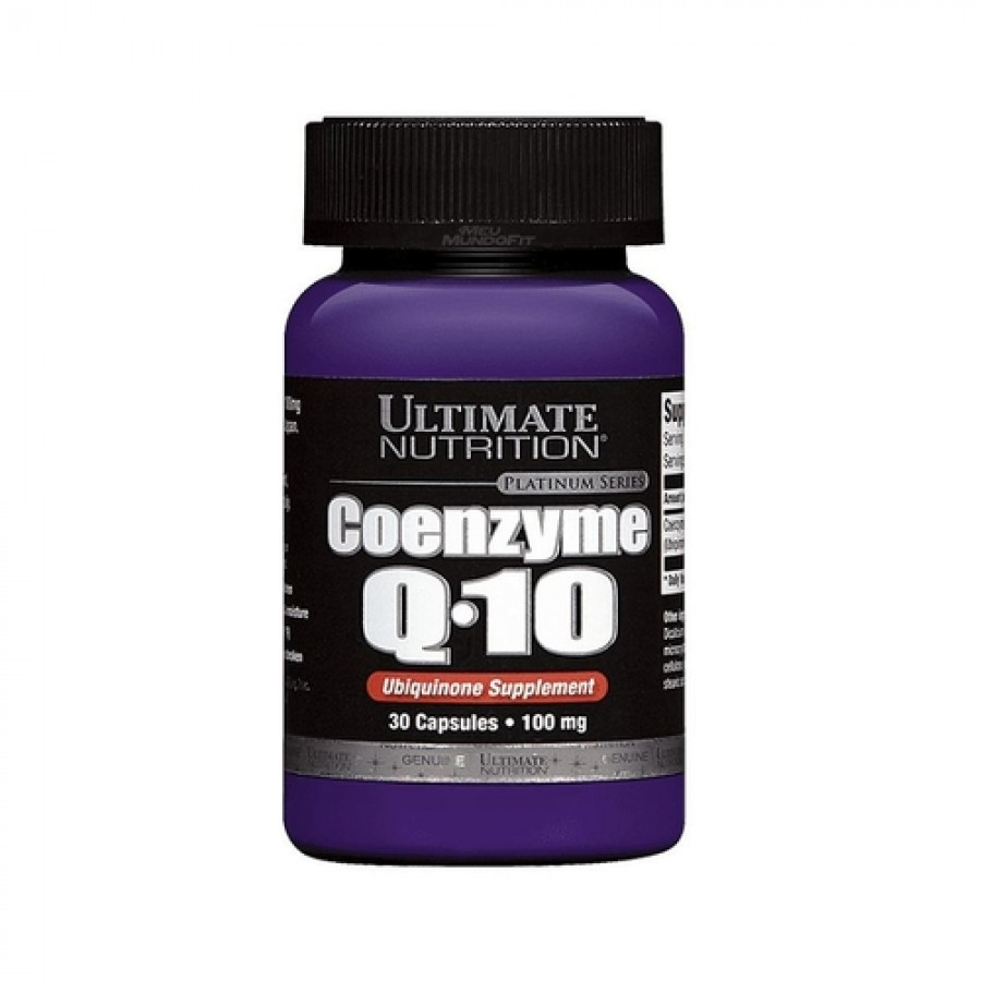 Coenzyme Q10 100Mg 30 Capsulas Ultimate Nutrition