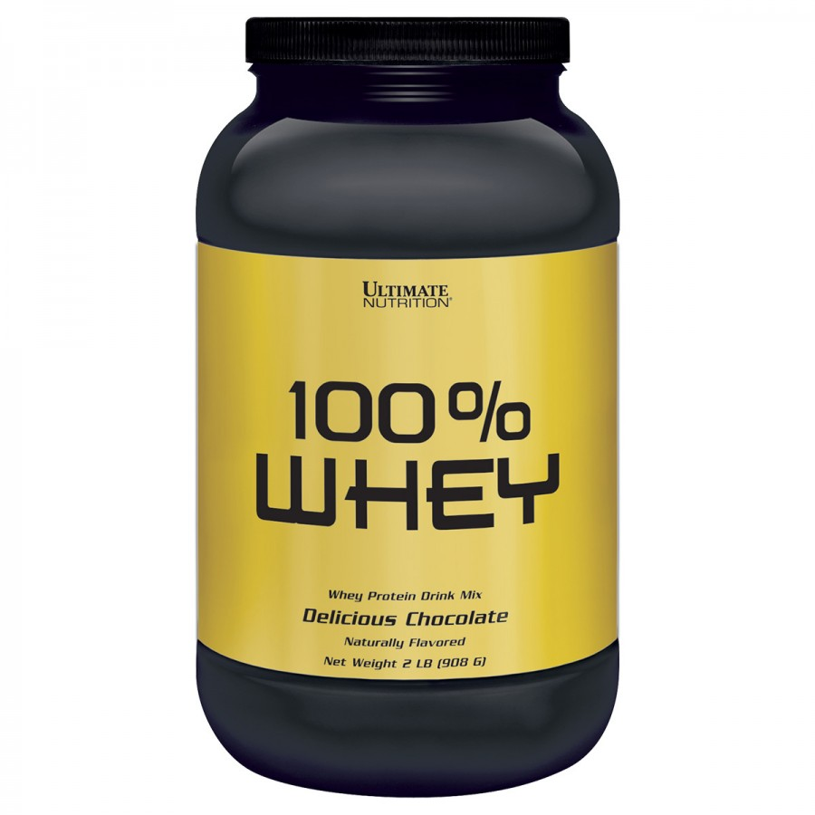 100% whey (908G) - ultimate nutrition