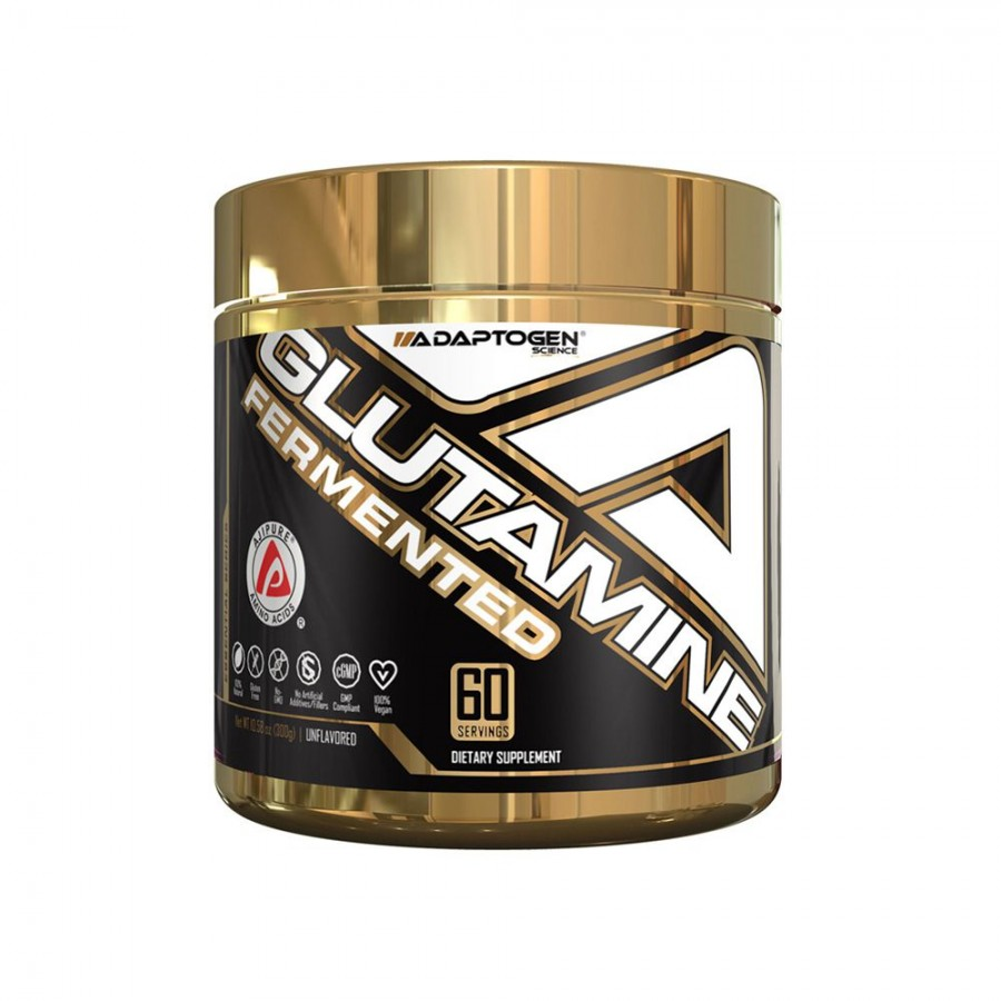 GLUTAMINE FERMENTED (300G ) - ADAPTOGEN SCIENCE