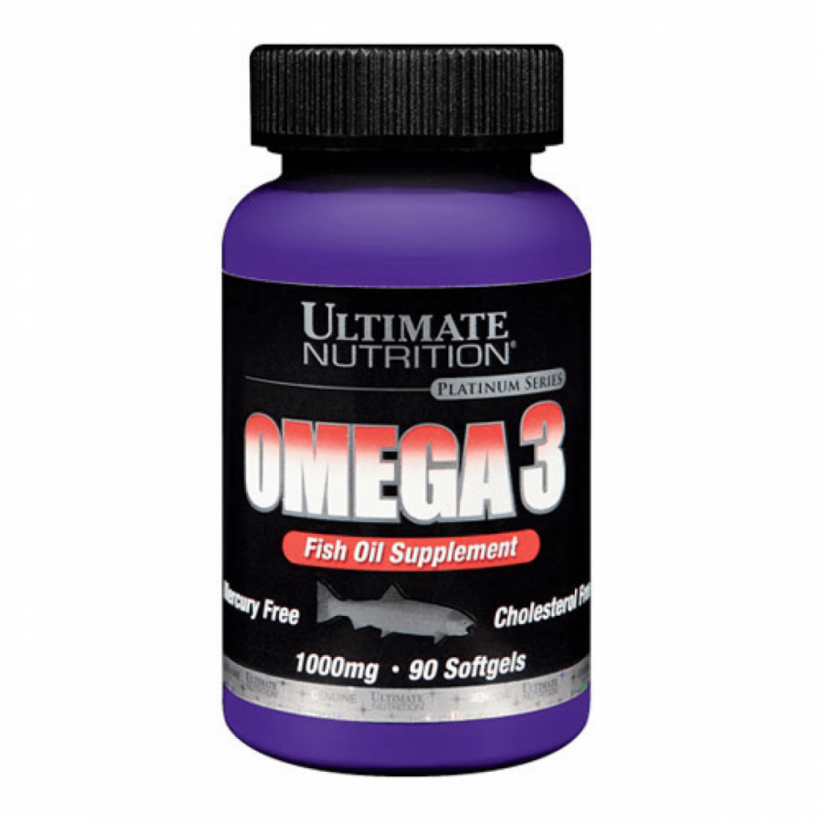 OMEGA 3 1000MG (90 SOFTGEL) ULTIMATE NUTRITION